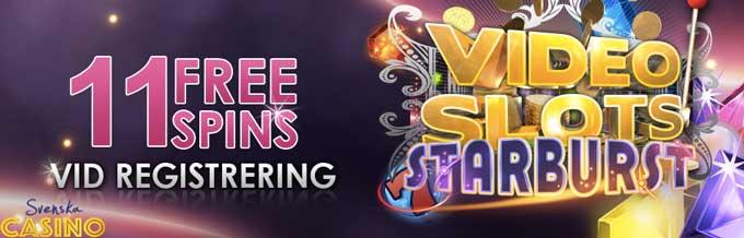 free spins videoslots casino på nätet starburst