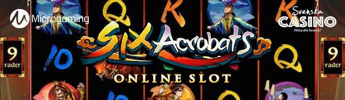 six acrobats spelautomat