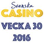 svenska casino vecka 30 2016 bonus free spins