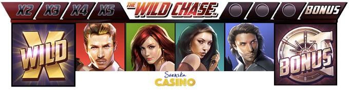 bonus free spins wild chase quickspin symboler